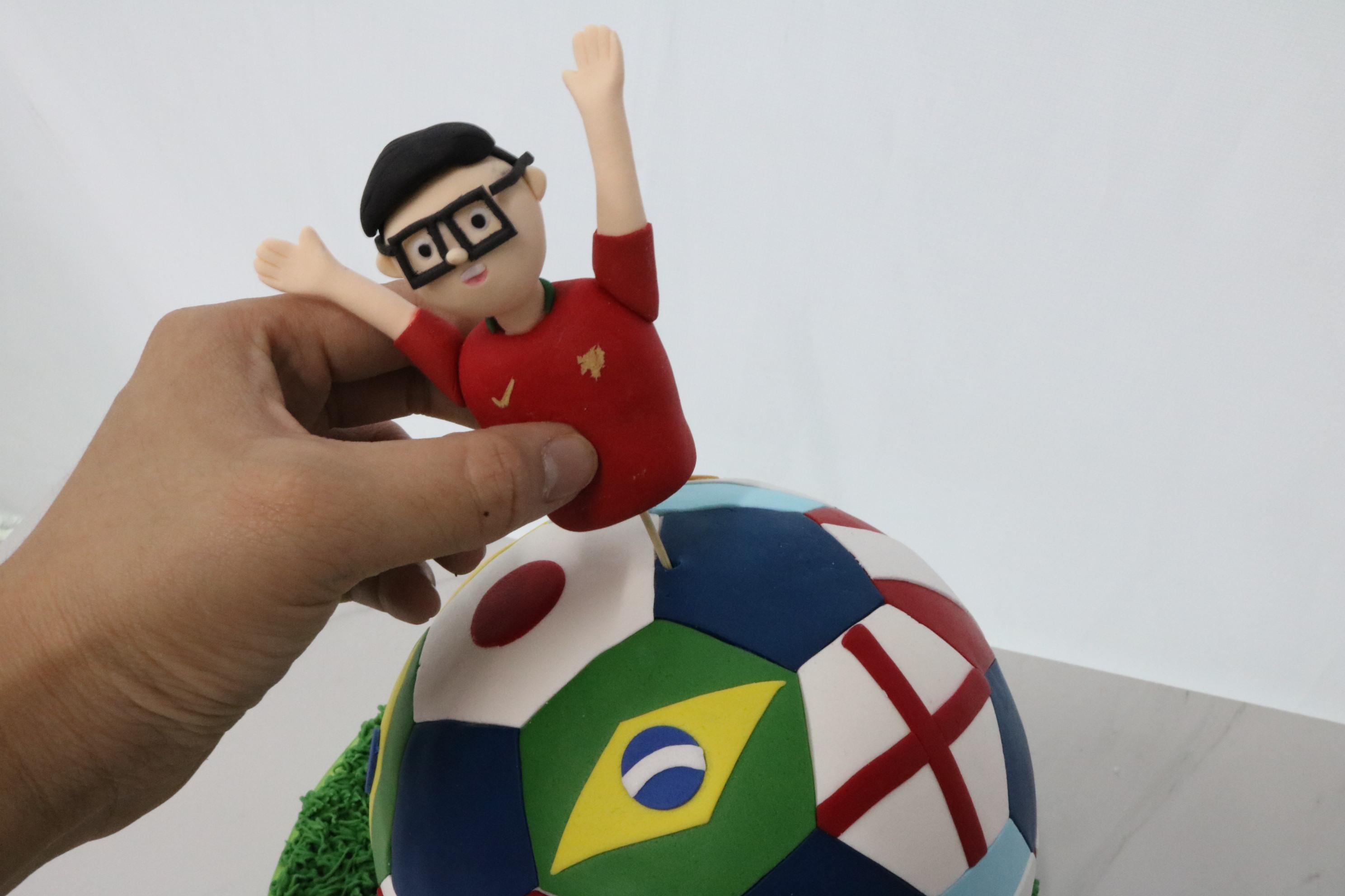 Fantastic Football Cake
