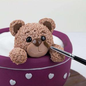 Teddy Teacup Cake