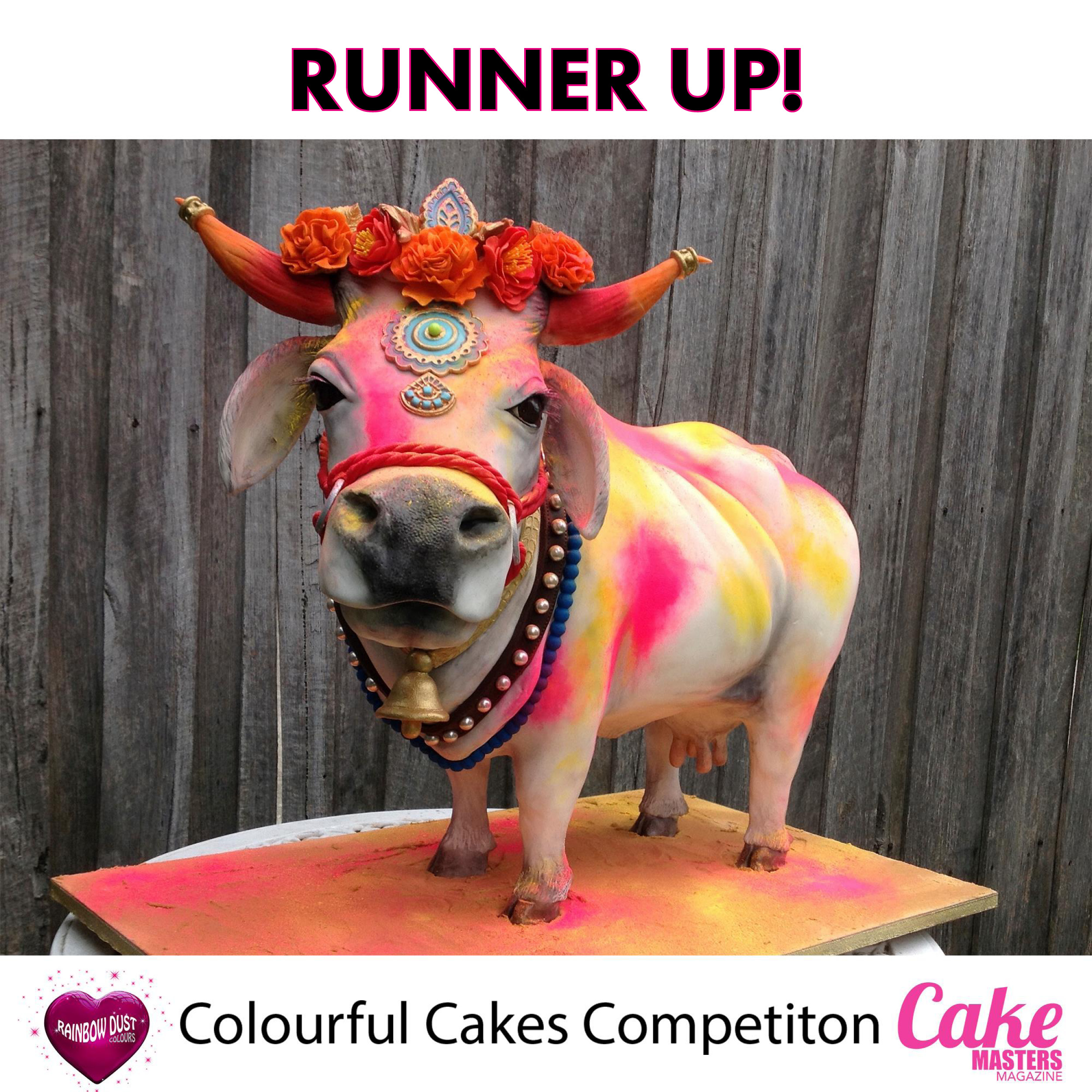 Colourful Cakes Comp FB - Runner Up Penny Bunz, Cleopatra Cakes