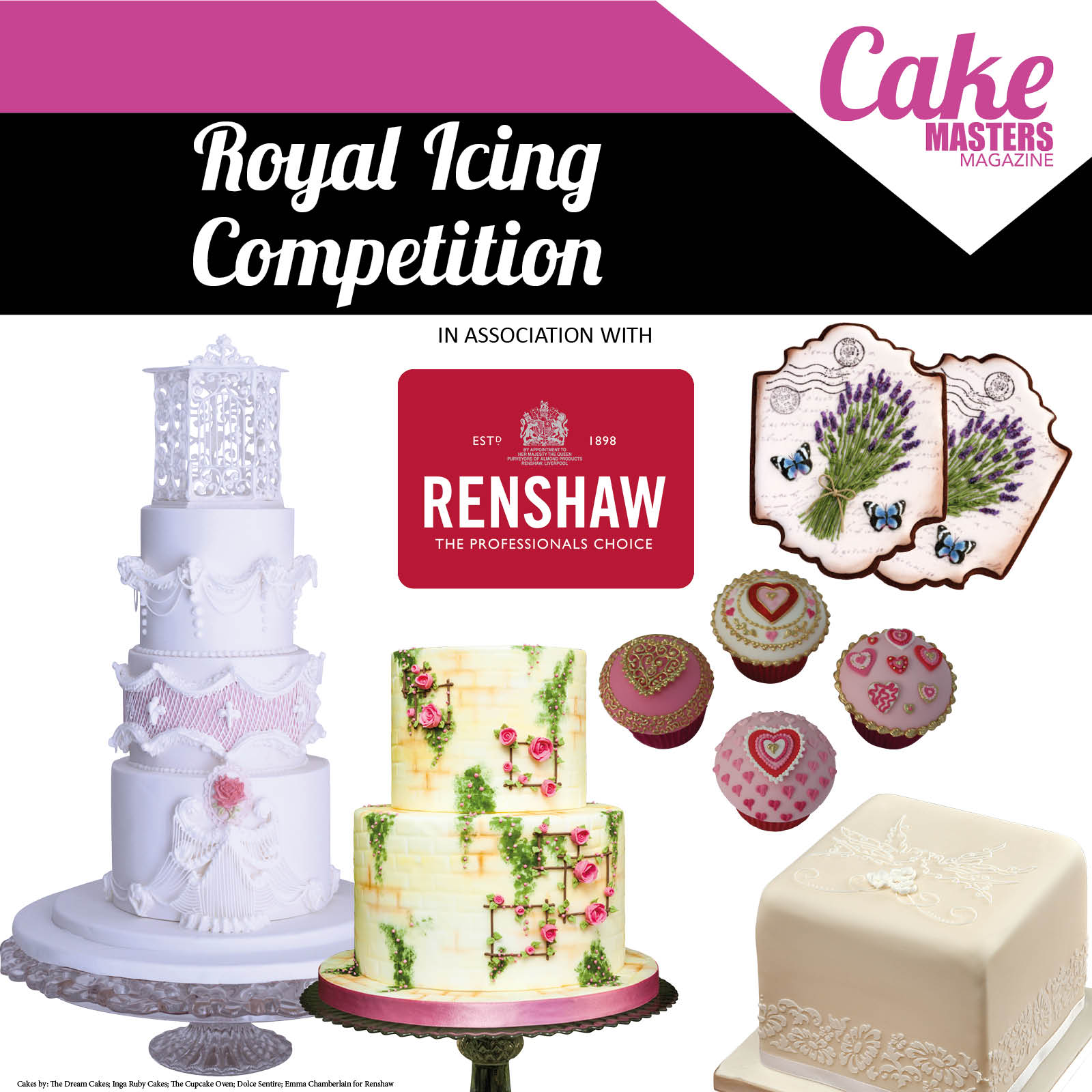 Royal Icing Competition Launch Web