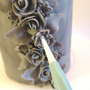 Copper Grey Roses