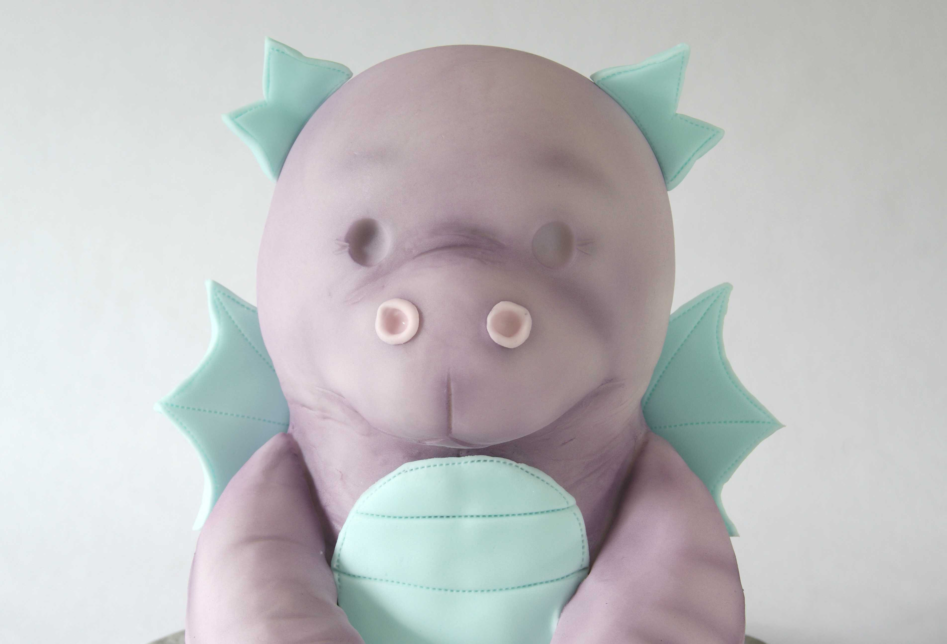 Darcie the Dragon Tutorial Cake Masters Magazine