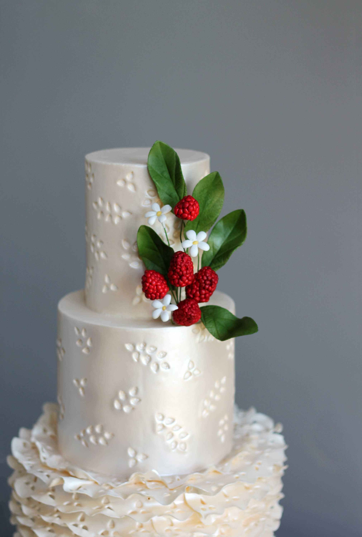 Eyelet Embroidery Cake Tutorial Cake Masters Magazine
