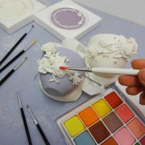 Teacup Cupcake Tutorial in Cake Masters Magazine