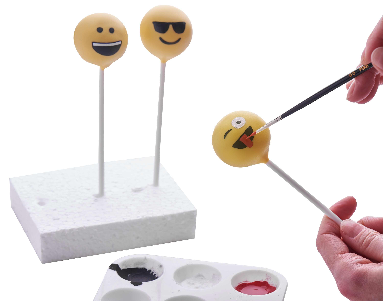 Emoji Cake Pops Tutorial in Cake Masters Magazine