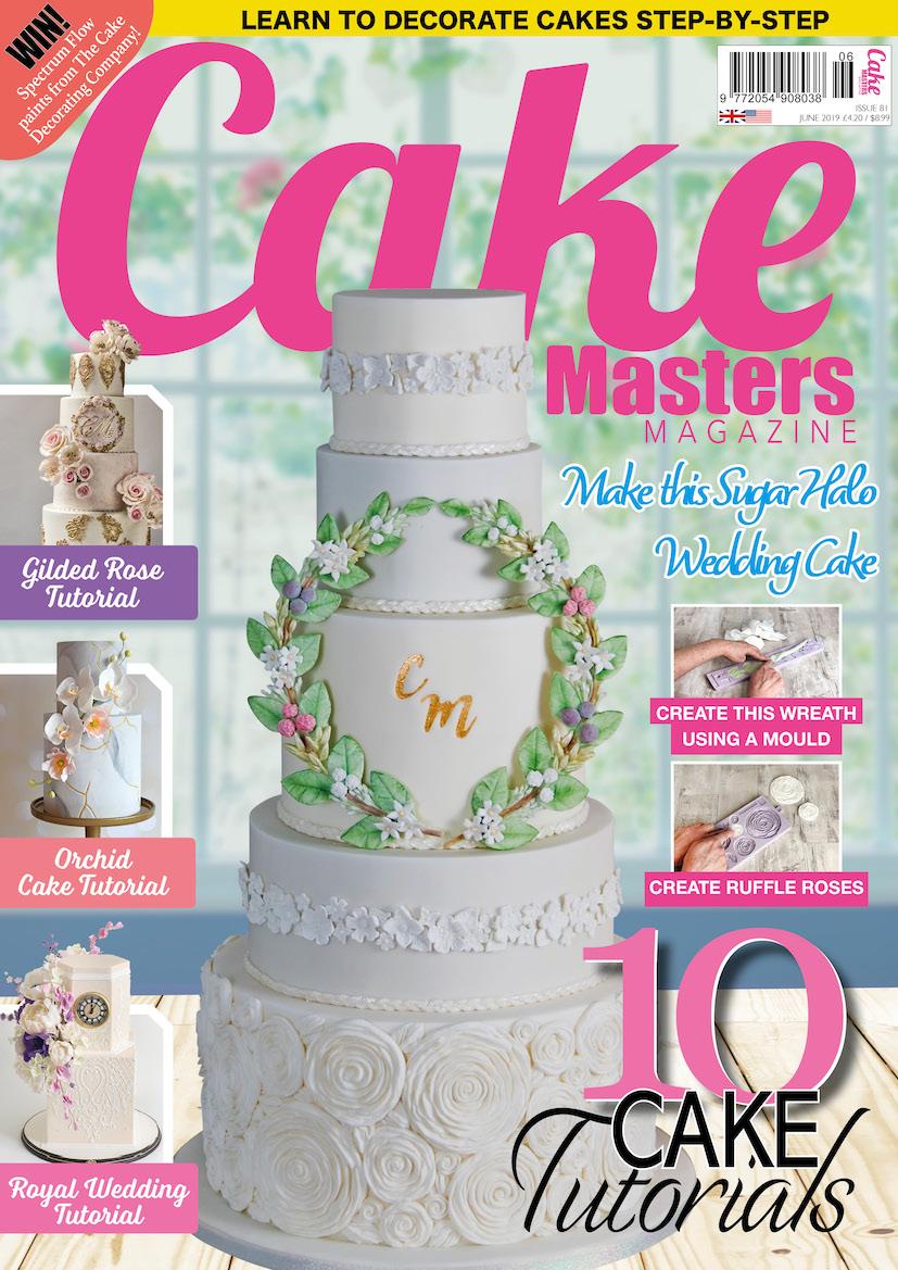 Wedding Cakes Magazine Autumn 2012   Squires Kitchen Shop